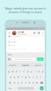 Peach — share vividly Screenshot 3