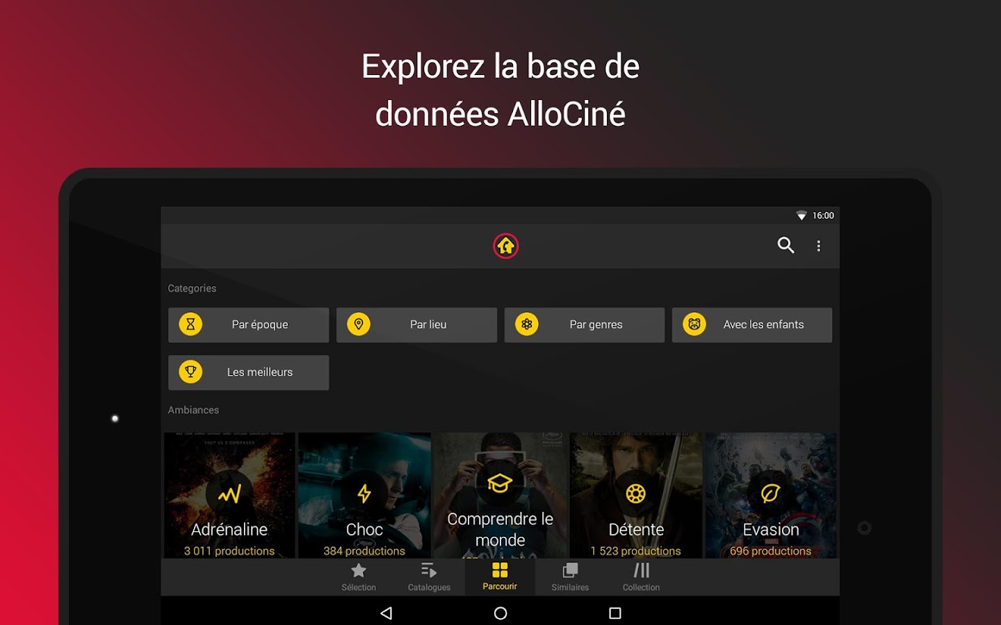 AlloCiné Home- screenshot