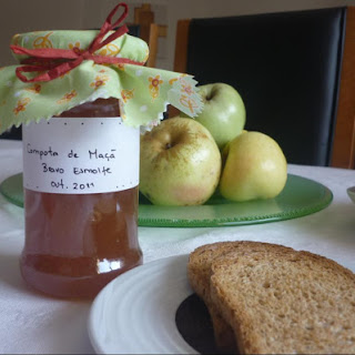 Apple Compote with cinnamon.