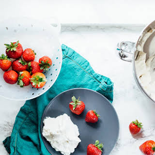 Strawberries and Whipped Cream.