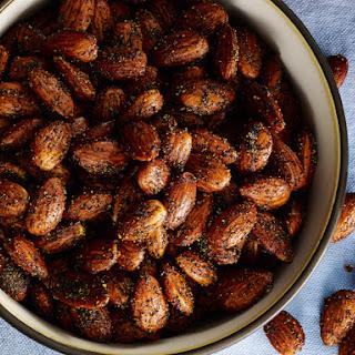 Smoky Garlic Almonds