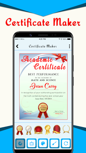 Download Certificate Creator Templates Design Maker Free For Android Certificate Creator Templates Design Maker Apk Download Steprimo Com
