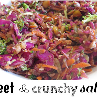 Sweet and Crunchy Cabbage Slaw