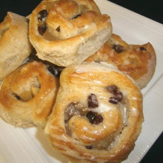 Apple and Cinnamon Scrolls with Chia Seeds
