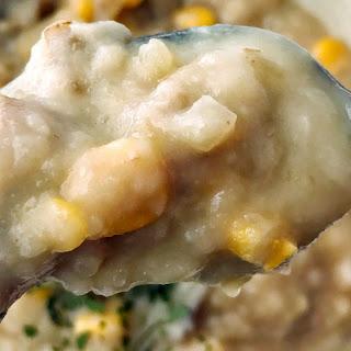 Crock Pot Potato Soup.