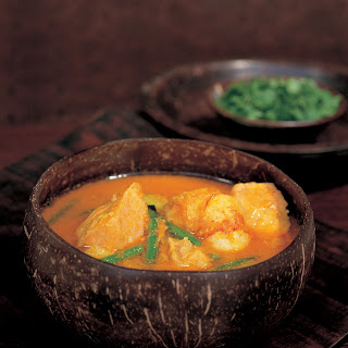 Thai Yellow Pumpkin and Seafood Curry Recipe