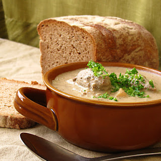 "Dumpling soup ""Poltavchanka"""