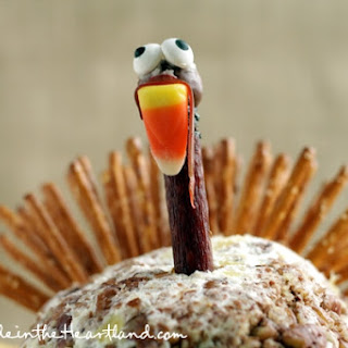 Thanksgiving Turkey Cheeseball