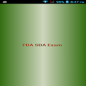 FDA SDA Exam preparation