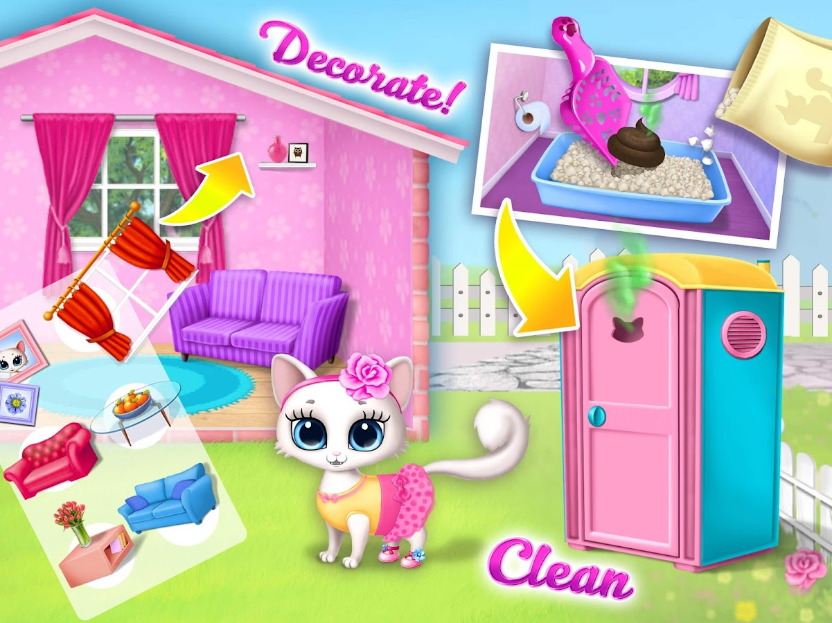 Kitty Meow Meow - My Cute Cat Day Care & Fun- screenshot