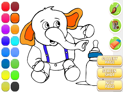Elephant Coloring Book screenshot 11