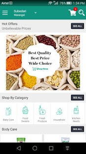 ShopitSoon Online Grocery App- screenshot thumbnail