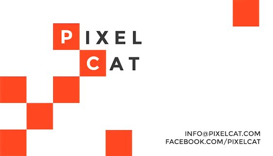 Pixel Cat Inc. - Business Card Template