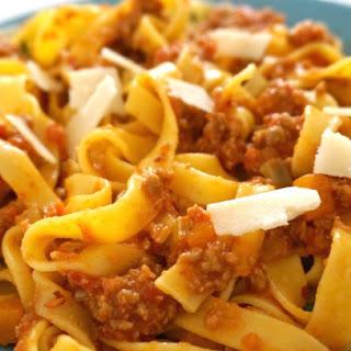 Tagliatelle Bolognese Recipe
