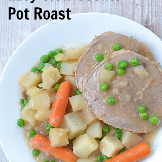 Easy Slow Cooker Pot Roast Recipe ~ Giveaway