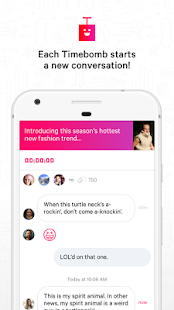 Timebomb Messenger- screenshot thumbnail