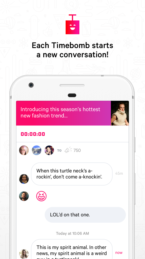 Timebomb Messenger- screenshot