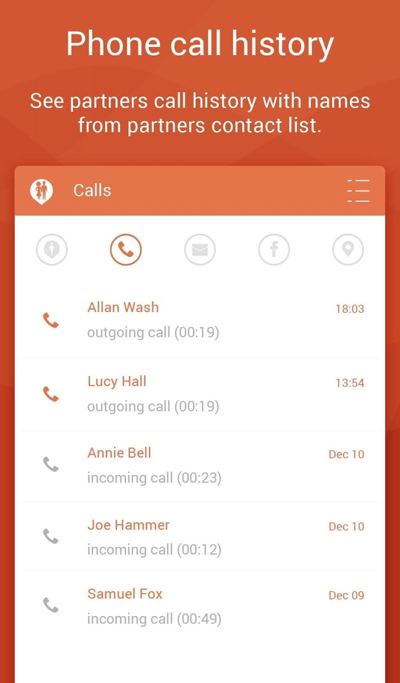 Couple Tracker Pro - Cell phone monitoring Screenshot 17