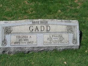 Photo: Gadd, I. William and Virginia A.