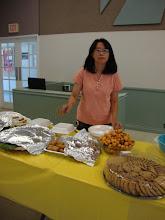 Photo: Phần trợ giúp cho bữa ăn trưa nhẹ.