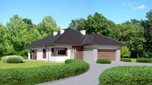 projekt Dom przy Pastelowej 6 bis