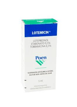 Lotemicin 0.5/0.3% Sol. Oft.