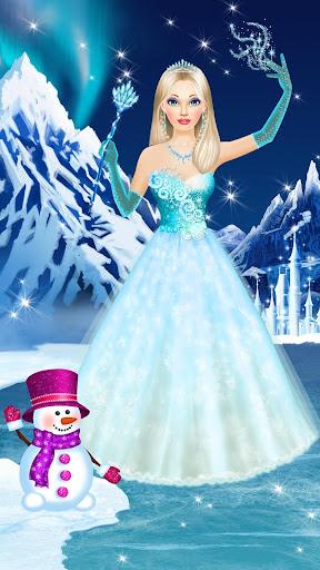 Ice Queen Makeover - Girls Makeup & Dress Up Game FREE.1.3 screenshots 15