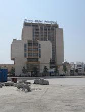 Photo: Hotelli Pristina (emme kuitenkaan olleet Pristinassa yötä, vaan vain päiväretkellä Skopjesta, Makedoniasta)