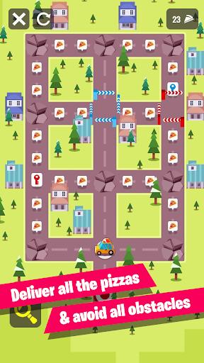 توصيل البيتزا: لقطات من لغز المنطق 2