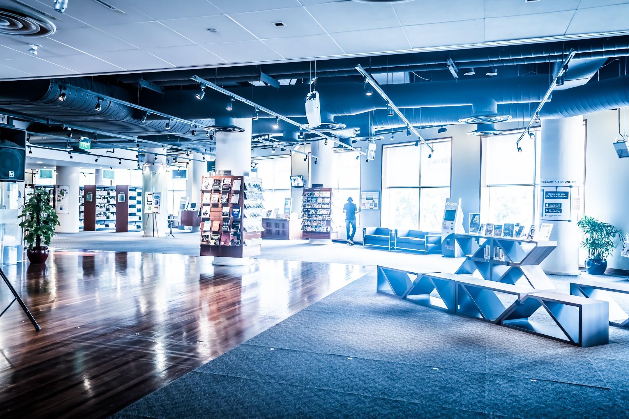 シンガポール library@esplanade2
