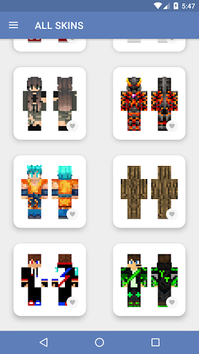 Skins for Minecraft PE (NEW SKINS) 5.0.5 screenshots 6