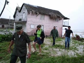 Photo: hurricane hits Cuba. Tracey Eaton photo.