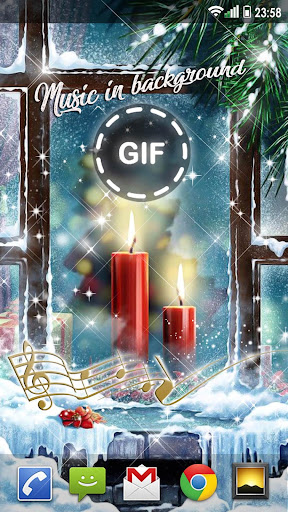 Christmas Songs Live Wallpaper with Music ud83cudfb6 2.8 screenshots 3