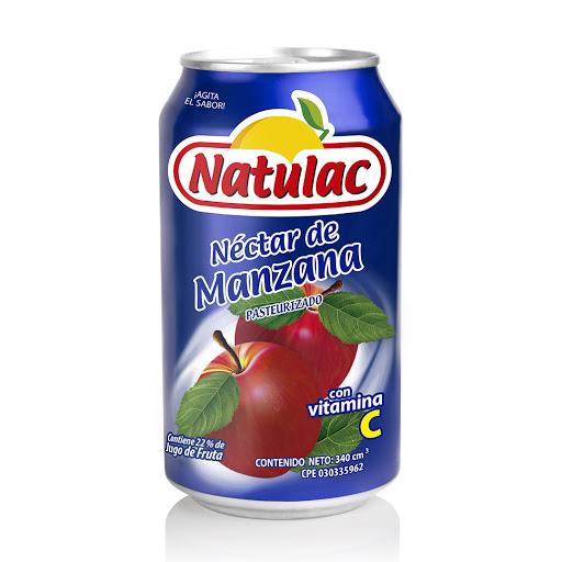 jugo natulac manzana 340ml Rico en vitamina C, Libre de conservantes y colorantes, pasteurizado.