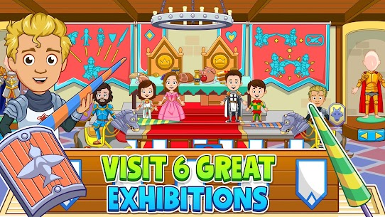 My Town : Museum Free MOD (Paid Content) 2