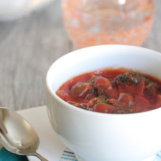 Roasted Broccoli Tomato Soup.