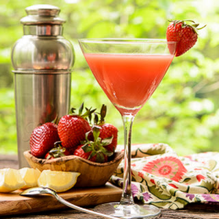 Strawberry Martini.