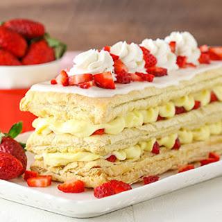 Strawberry Napoleons.