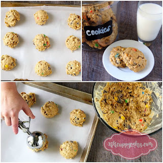 Trail Mix Chocolate Chip Cookies.