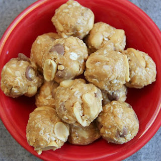 Crunchy Chocolate Chip Peanut Butter Snack Bites Recipe