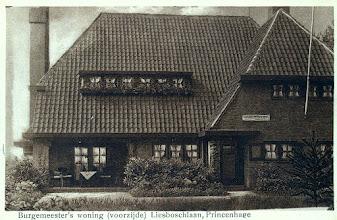 Photo: 1932 Villa De Eiken, woning burgemeester J.H.M. Vermeulen, burgemeester van Princenhage van 1917 tot 1935