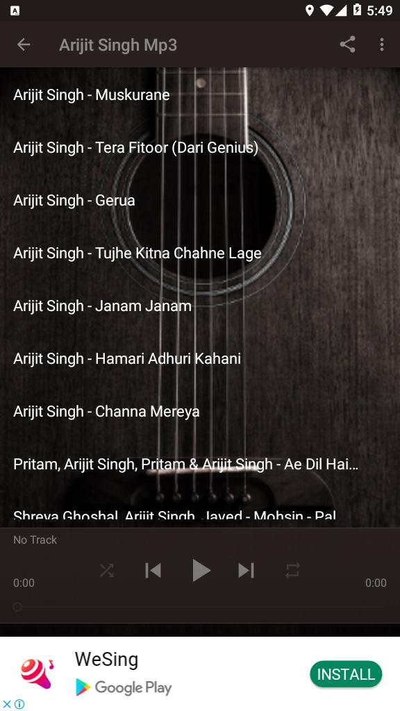 Muskurane Arijit Singh Mp3 Download : muskurane, arijit, singh, download, Arijit, Singh, *Muskurane, Wajah, Ho#01, Download, Com.andromo.dev807396.app1013172