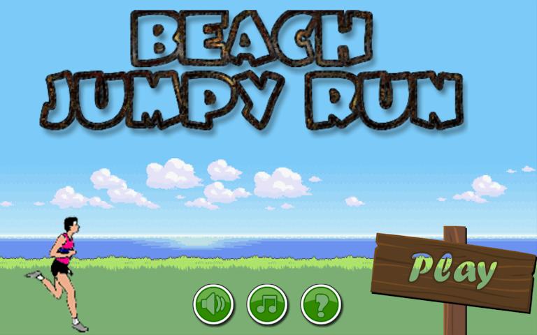 android Beach Jumpy Run Screenshot 3