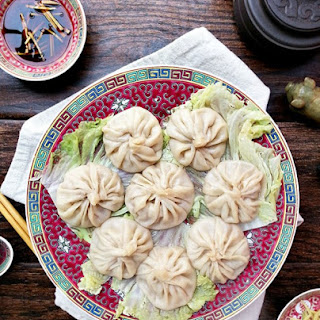 Shanghai soup dumplings (Xiao Long Bao)