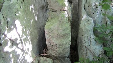 Photo: Interesantne , rebraste stijene