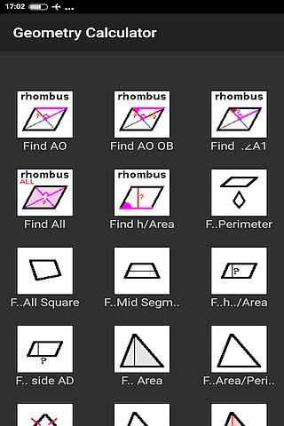 Geometry Calculator 0.0.3 screenshots 2