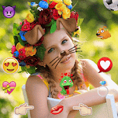 Photo collage editor Emoji