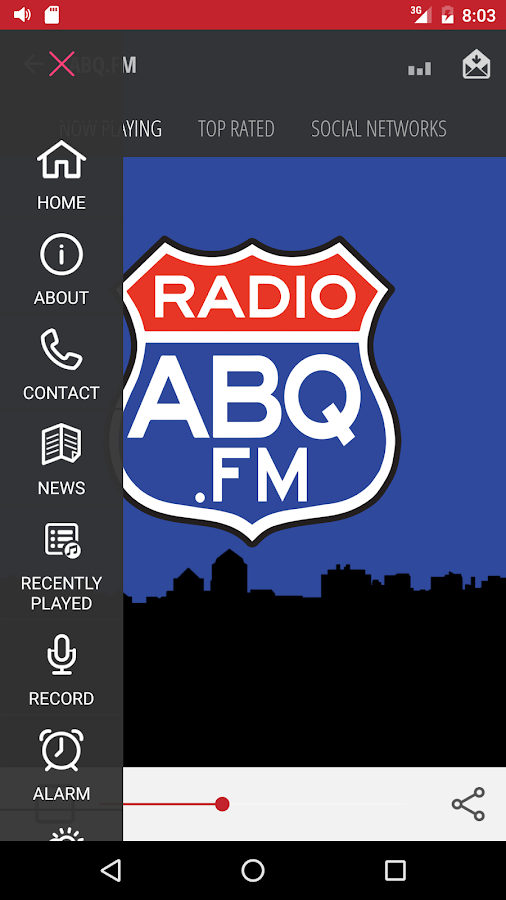 ABQ.FM- screenshot