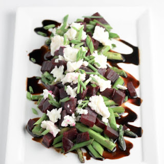 Asparagus Beets and Goat Cheese Salad Recipe