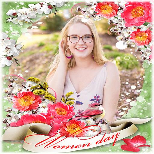 Woman Day Photo Frames